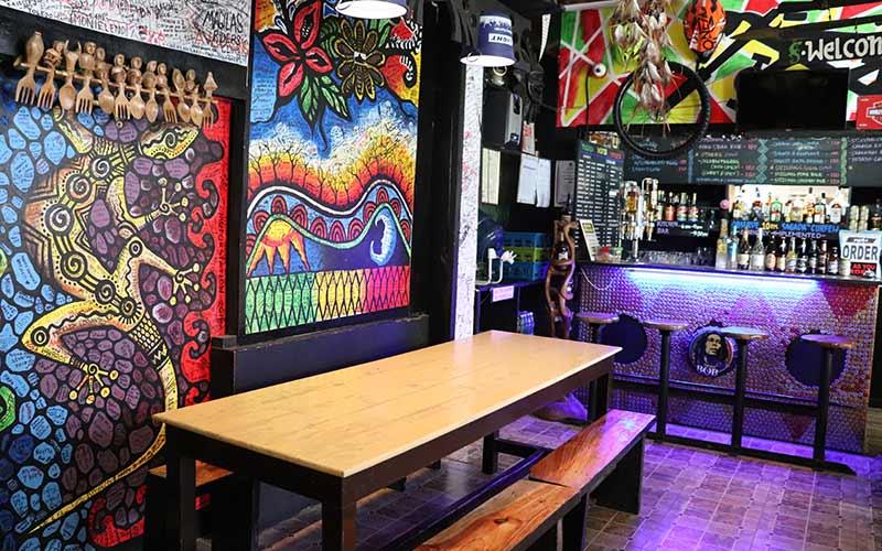 Bar de copas y restaurante en Sagada