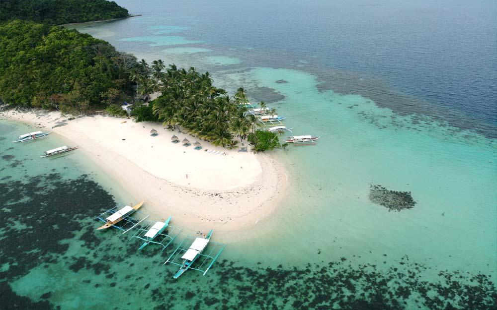 German Island, Port Barton, Palawan